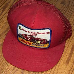 Vintage USA Bill Elliott 1988 Winston Cup Hat